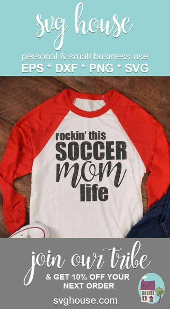 Rockin' This Soccer Mom Life SVG