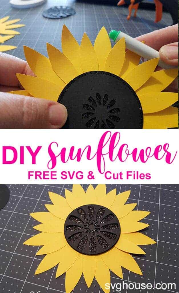 sunflower svg