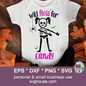 will floss for candy svg